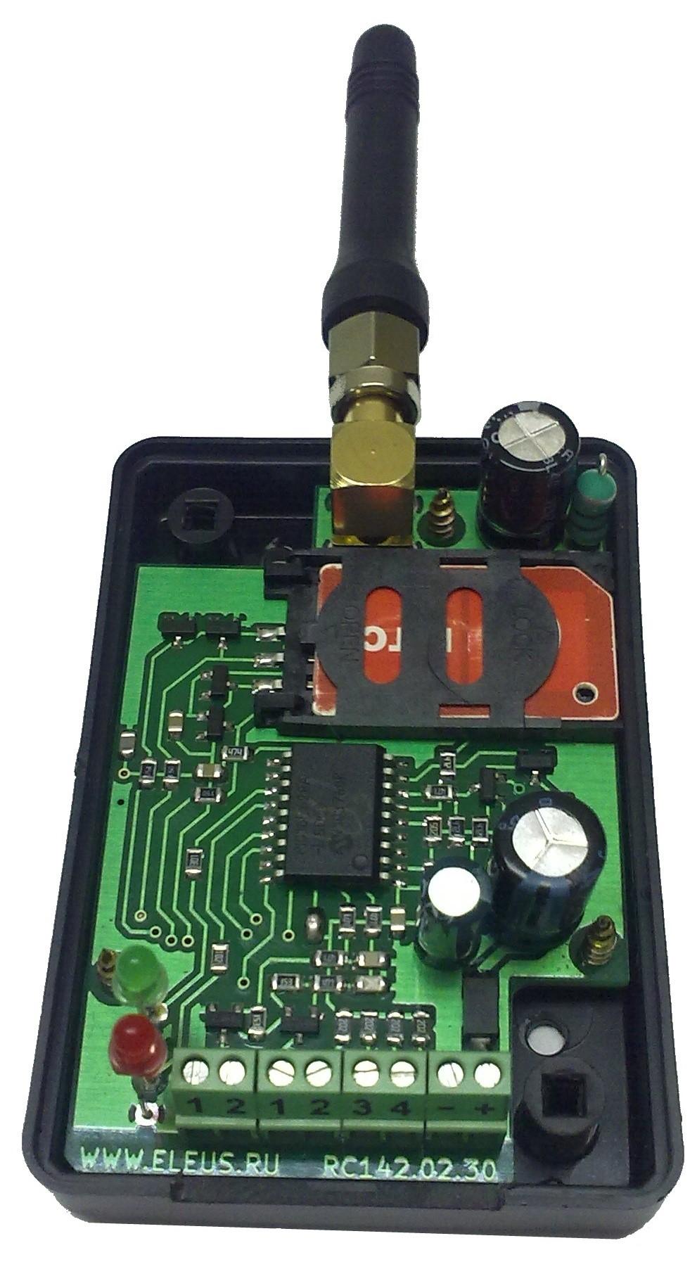 контроллер управления gsm телефоном